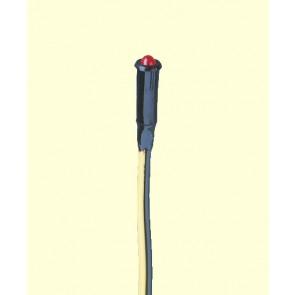 Brawa 3482 - Mini-LED-Kontrolleuchte, 14-19V, rot