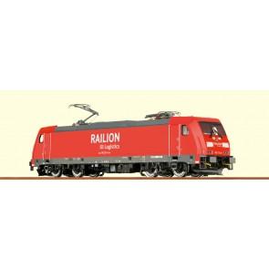 Brawa 43924 - H0 E-Lok BR185.2 RAI, VI, DC An. BASIC+