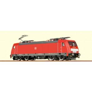 Brawa 43930 - H0 E-Lok BR186 DB AG, VI, DC An. BASIC+