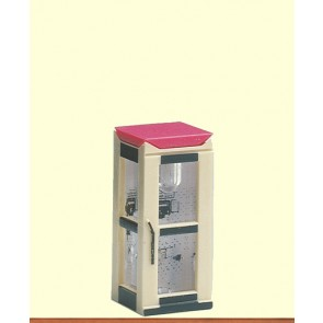 Brawa 4564 - N Telefonzelle Telekom, geschlossen