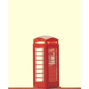 Brawa 5437 - H0 Englische Telefonzelle