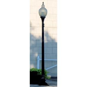 Brawa 84040 - H0 LED-Gaslaterne US Stecks., einzeln