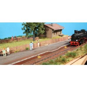 Brawa 94002 - H0 Bahnsteigkanten Mauerwerk, II-VI