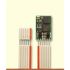 Brawa 99802 - Fahrzeugdecoder DH10C-1, Bandk. NEM651