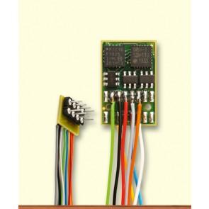 Brawa 99804 - Fahrzeugdecoder DH16A-2, Litzen NEM652