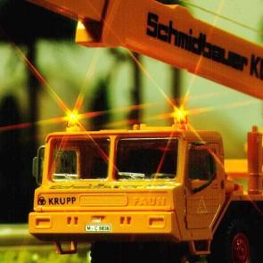 Busch 5918 - KNIPPERLICHTSET GEEL KPL. H0