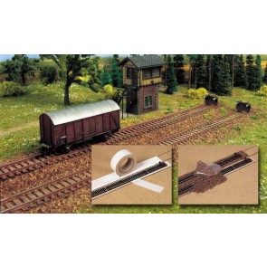 Busch 7091 - RAILBEDDING+GRIND N