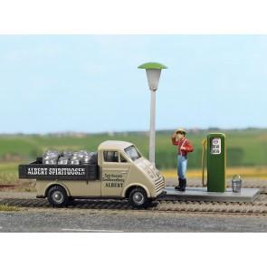 Busch 7700 - Mini scene Albet Spirtuosen