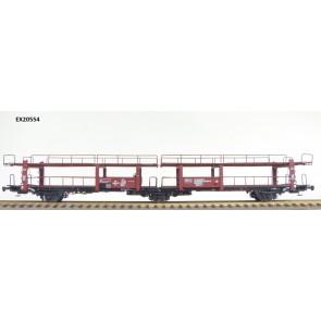 Exact train EX20554 - NS Lacs 3-achsiger Autotransportwagen Beschriftung VAN DOORNE'S AUTOMOBIELFABRIEK N.V. DAF Eindhoven