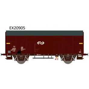 Exact train EX20905 - NS Gs-t 1430 Van G&L mit braunen Luftklappen Epoche IV Nr. 1200 531-1
