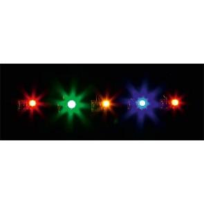 Faller 180652 - 5 LED GEKLEURD ASS.