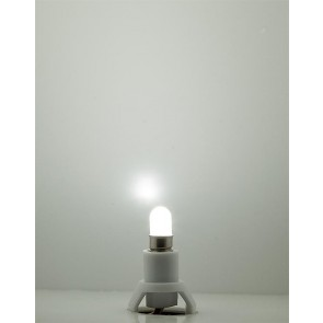 Faller 180661 - FITTING + LED LAMP KOUD WIT