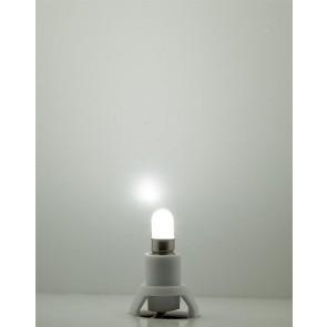 Faller 180661 - FITTING + LED LAMP KOUD WIT