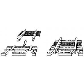 Fleischmann 22215 - N Flex Endstück     VP 24  OH