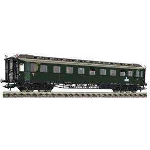 Fleischmann 568304 - Schnellzugwagen 3. Klasse Bauart C 4ü mit Zugschlussscheiben, DB