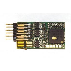 Fleischmann 687303 - DCC Decoder mit RailCom 6 pol.