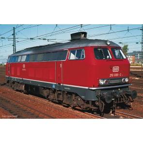 Fleischmann 724290 - Diesellok BR 210 SND. rot