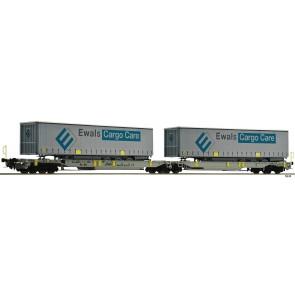 Fleischmann 825008 - Doppeltaschen-Gelenkwagen T200