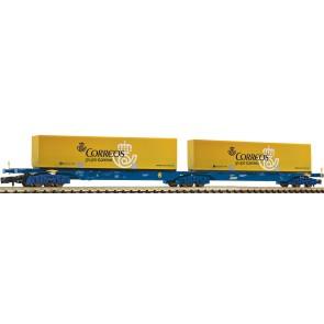 Fleischmann 825336 - Doppeltragwagen, RENFE