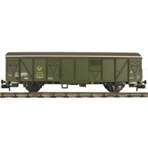 Fleischmann 831511 - Güterwagen Post 2ss-t13 DBP g