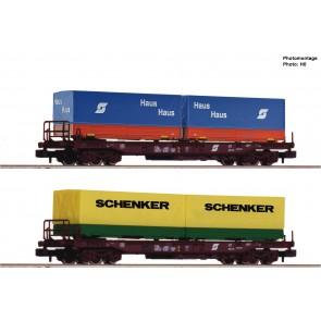Fleischmann 845376 - EH-Taschenw.2er Set ÖBB