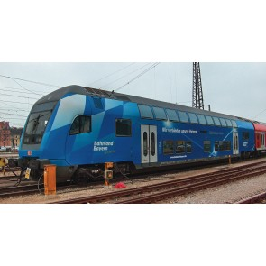 Fleischmann 862085 - Doppelstock-Steuerwagen 2. Klasse, DB AG Südostbayernbahn