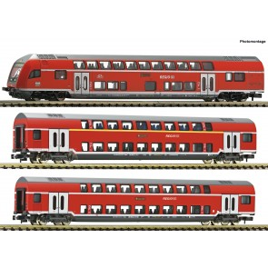Fleischmann 862810 - 3-tlg.Set DoSto Wg. DB AG