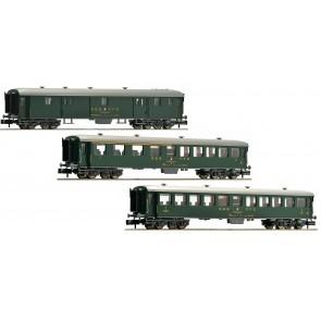 Fleischmann 881813 - 3-tlg. Schnellzugwagen-Set Teil 1, SBB