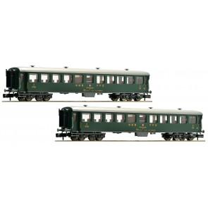 Fleischmann 881814 - 2-tlg. Schnellzugwagen-Set Teil 2, SBB