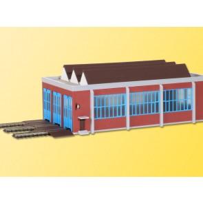 Kibri 37806 - N Lokschuppen dreistaendig