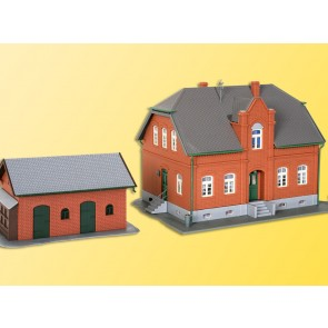 Kibri 38188 - H0  Siedlungshaus Oberhausen