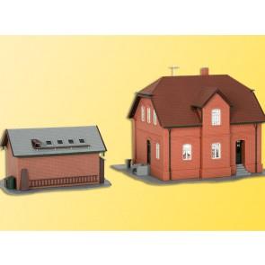 Kibri 38190 - H0 Siedlungshaus Bottrop mit
