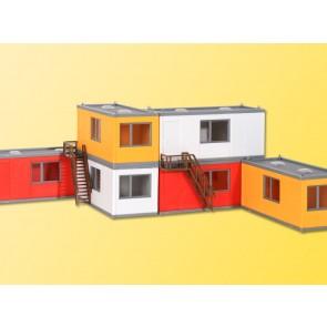 Kibri 38627 - H0 Gebäude-Container, 6 Stück