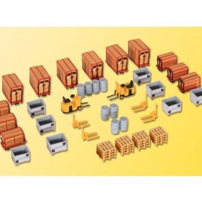 Kibri 38647 - H0 Kleincontainer u. Ladegut