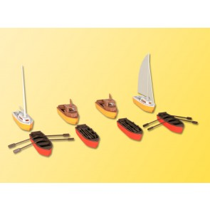 Kibri 39159 - H0 Set Boote
