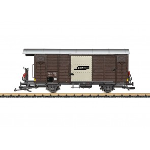 Lgb 43813 - Ged. Güterwagen RhB