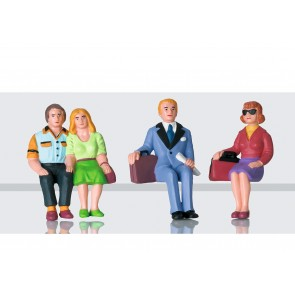 Lgb 53006 - Figurenset Reisende sitzend