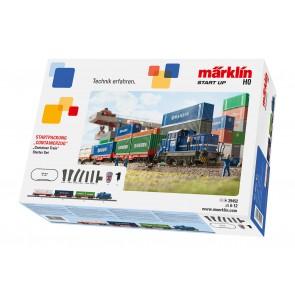 Marklin 29452 - Startpackung Containerzug