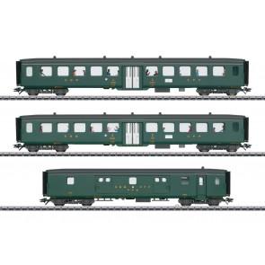 "Marklin 43385 - Sneltreinrijtuigset 2 ""D96 Isar-Rhone"" INSIDER"