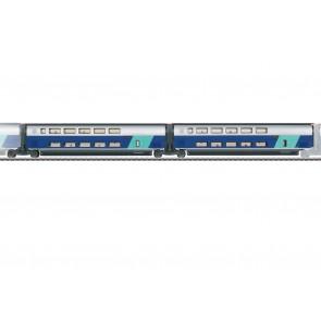 Marklin 43433 - Erg.wg.-Set 2 TGV Duplex