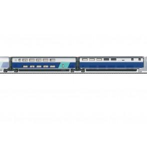 Marklin 43443 - Erg.wg.-Set 3 TGV Duplex