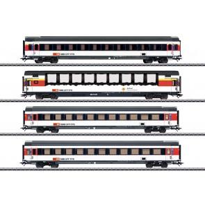 Marklin 43651 - EuroCity 4er-Set, SBB, Ep. VI