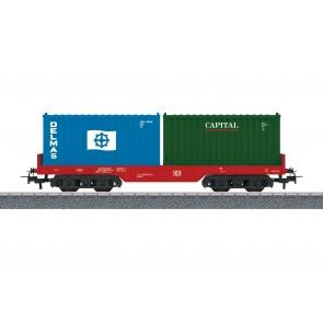 Marklin 44700 - Containertragwagen DB AG