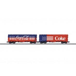 Marklin 45686 - Kühlwagenset Coca Cola