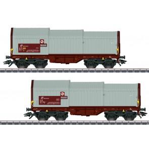 Marklin 46871 - Teleskophaubenwagen-Set FS