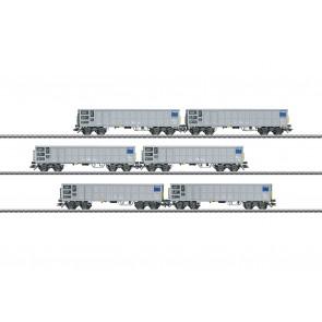 Marklin 46912 - Hochbordwagen-Set SBB Cargo