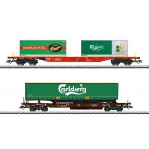 Marklin 47109 - KLV-Güterwagen-Set D