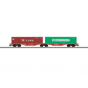 Marklin 47800 - Doppel-Tragwagen DB Cargo