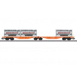 Marklin 47805 - Doppel-Tragwagen Sggrss80 Was