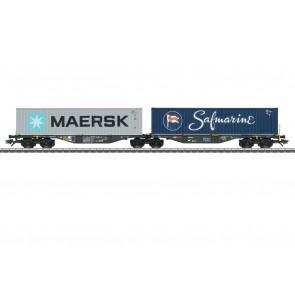 Marklin 47806 - Doppel-Tragwagen Sggrss80 Rai